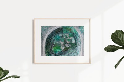 Mel and Mint - Rockpool Print (A3)
