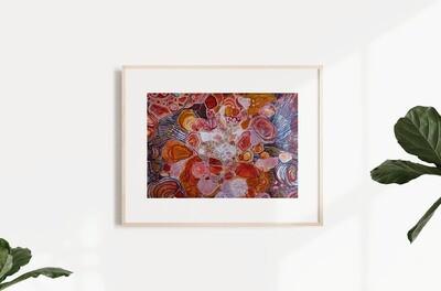Speckle + Sparkle A3 Print