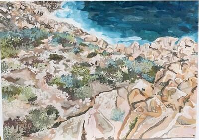 Coastline nearInjidup