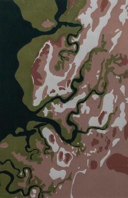 Tidal Inlet, nearPeedamulla2/8 (unframed)