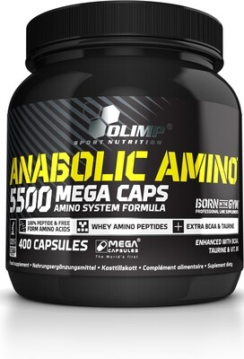 OLIMP ANABOLIC AMINO 5500 MC® (400 CAPS, 470G)
