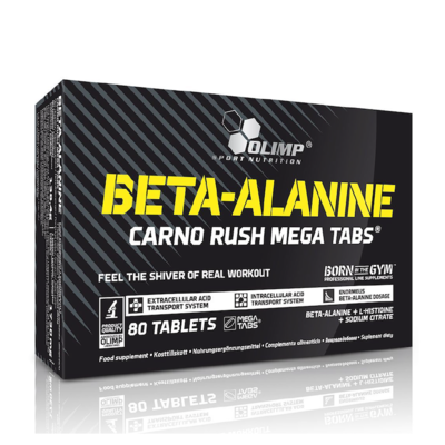Olimp Beta-Alanine Carno Rush 80 Caps