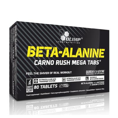 Beta-Alanine Carno Rush 80 Caps