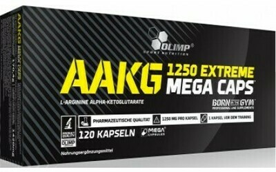 AAKG 1250 EXTREME 120 MEGA CAPS