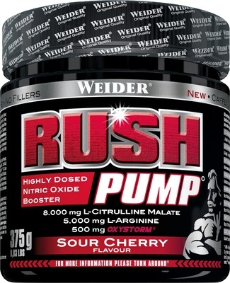 WEIDER RUSH PUMP - Sour Cherry