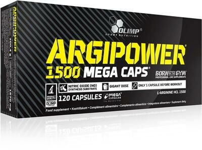 Olimp ArgiPower 1500 Mega Caps  120Caps
