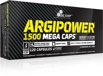 ArgiPower 1500 Mega Caps  120Caps
