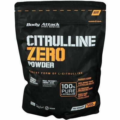 BODY ATTACK CITRULLINE ZERO 500G BEUTEL