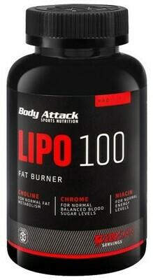 BODY ATTACK LIPO 100 120 CAPS