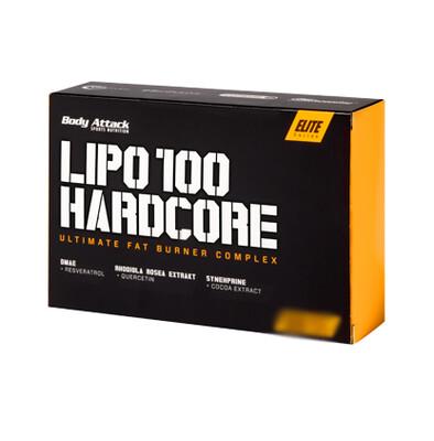 BODY ATTACK LIPO 100 HARDCORE 120 CAPS