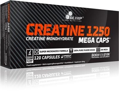 OLIMP CREATINE MONOHYDRATE MEGA CAPS® 120 CAPS À 1250MG