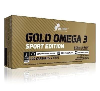 OLIMP GOLD OMEGA 3 SPORT EDITION (120 CAPS)