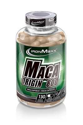 IRONMAXX MACA ORIGIN 800 (130 CAPS À 800MG)
