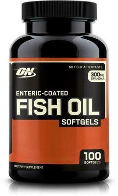 OPTIMUM NUTRITION - FISH OIL 100 CAPS