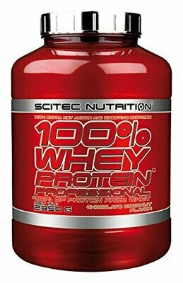 SCITEC NUTRITION 100% WHEY PROTEIN PROFESSSIONAL  2350 g