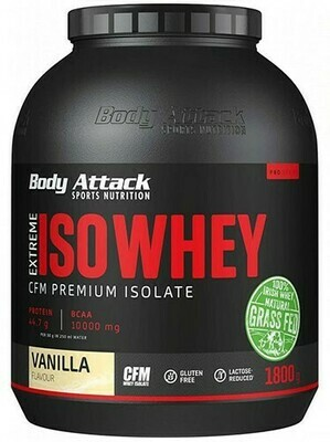 BODY ATTACK EXTREME ISO WHEY PROFESSIONAL 1800gramm