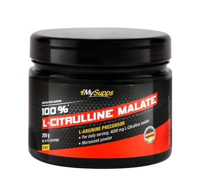 MYSUPPS 100% L-CITRULLINE MALATE 250G DOSE