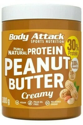BODY ATTACK PEANUT BUTTER  1000g