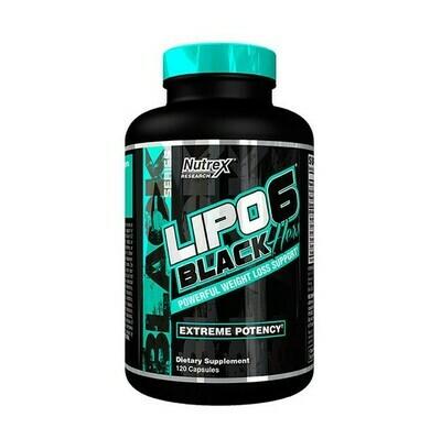 NUTREX LIPO6 BLACK HERS 120 Caps