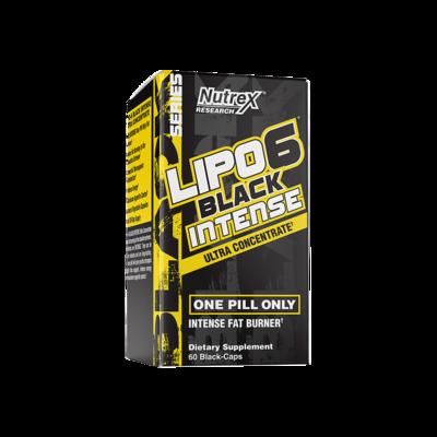 NUTREX Lipo6 Black Intense Ultra Concentrate 60 Kapseln