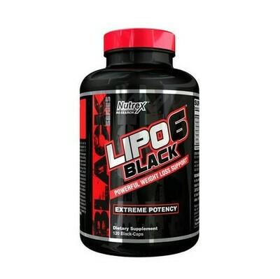 NUTREX Lipo6 Black 120 Kapseln