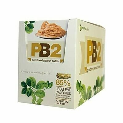 Bell Plantation PB2 Powdered Chocolate Peanut Butter - 12x22g