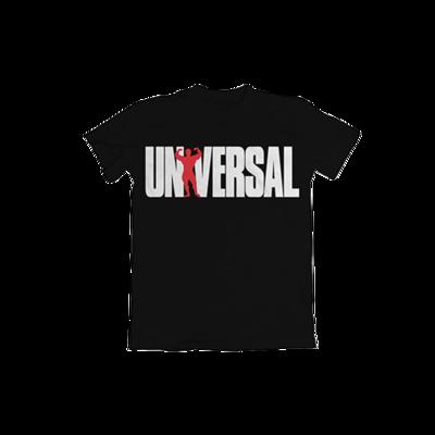 UNIVERSAL T-SHIRT 77 BLACK