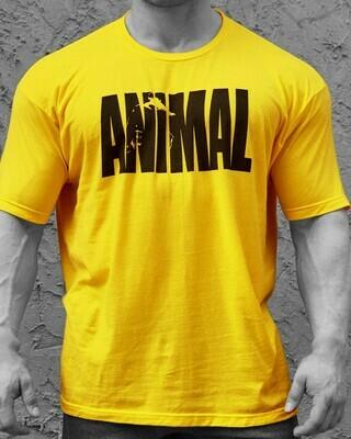 ANIMAL T-SHIRT GELB