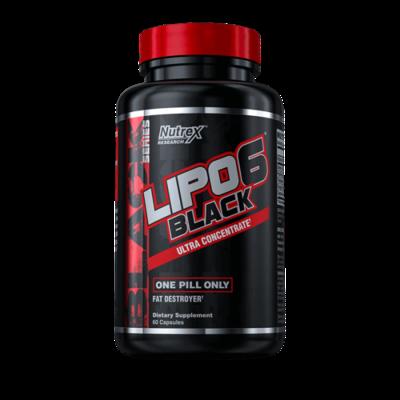 NUTREX LIPO 6 BLACK 60 Kapseln