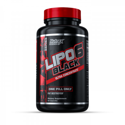 NUTREX LIPO6 BLACK - Ultra Concentrate - 60 Kapseln