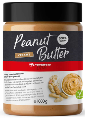 POWERFOOD ONE PEANUT BUTTER (1000G DOSE)