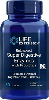 LIFE EXTENSION Super Digestive Enzymes 60 Caps