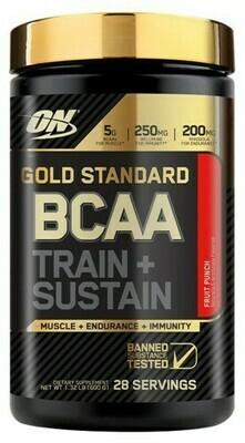OPTIMUM NUTRITION GOLDSTANDARD BCAA TRAIN + SUSTAIN
