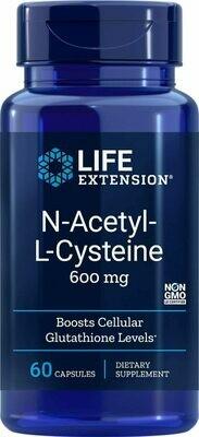 N-ACETYL-L-CYSTEINE 600MGg  60 CAPS
