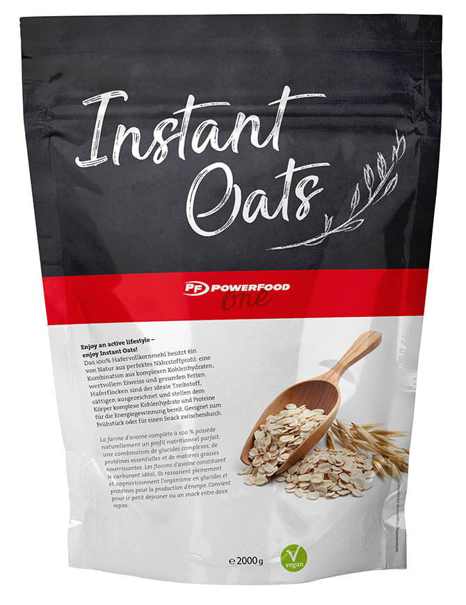 POWERFOOD ONE INSTANT OATS (2000G BEUTEL)