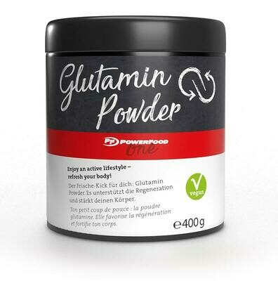 Powerfood One Glutamine Powder 400g