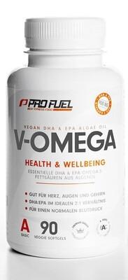 Pro Fuel V - Omega Health & Wellbeing 90 Caps Vegan
