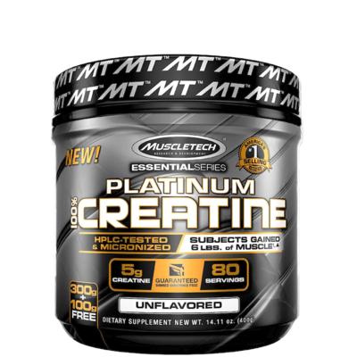 Muscletech 100% Platinum Creatine 400g