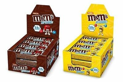 M&M Hi Protein Bar 12X51g