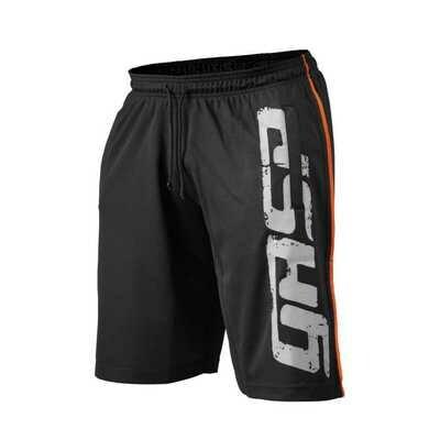 GASP No1 Mesh Shorts SCHWARZ