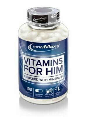 Ironmaxx Vitamins for Him 100 Kapseln