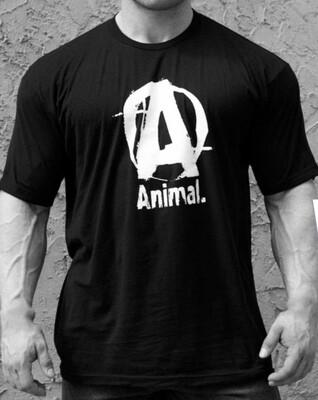 Animal Basic T-Shirt Black