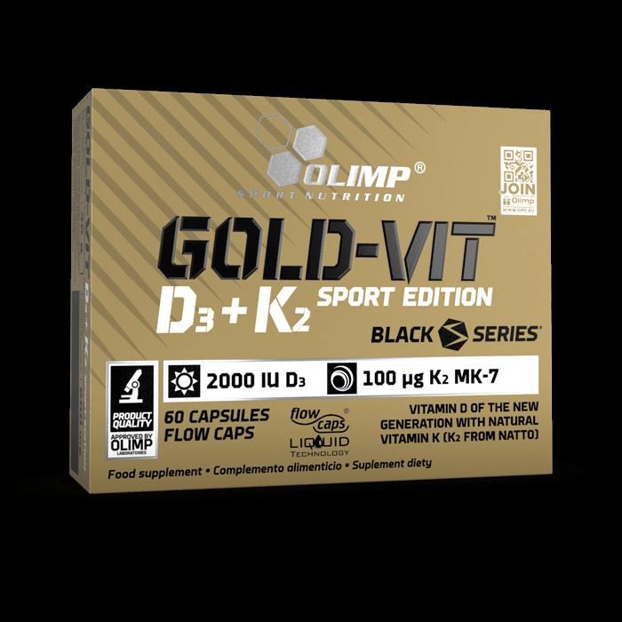 OLIMP GOLD-VIT D3+K2 Sport Edition