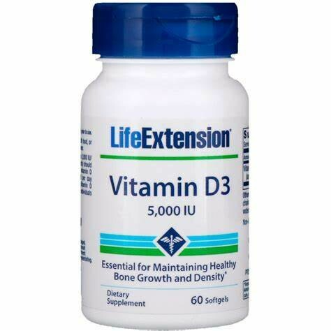 Life Extension Vitamin D3 5000IU