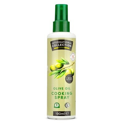 International Collection Cooking Spray Olive Oil 190ml