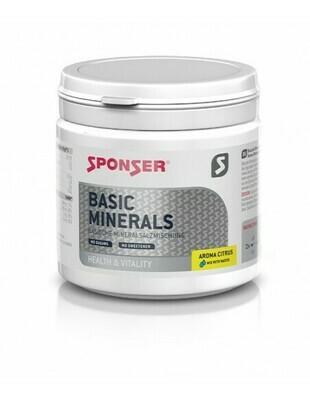 Sponser Basic Minerals 400g Dose Citrus
