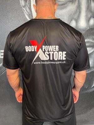 BodyPower T-Shirt Schwarz
