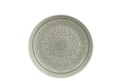 Assiette Ceramique  Gris Medium