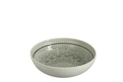 Saladier céramique gris médium