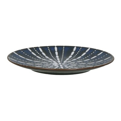 Assiette plate porcelaine COSMO